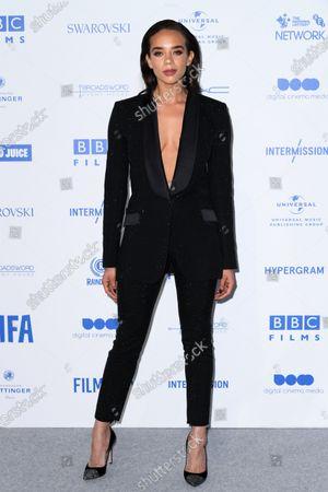 Editorial image of 22nd British Independent Film Awards, Fashion Highlights, Old Billingsgate, London, UK - 01 Dec 2019