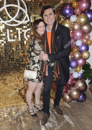 Editorial photo of LLIO Crystals & Cocktails Launch Party, London, UK - 27 Nov 2019