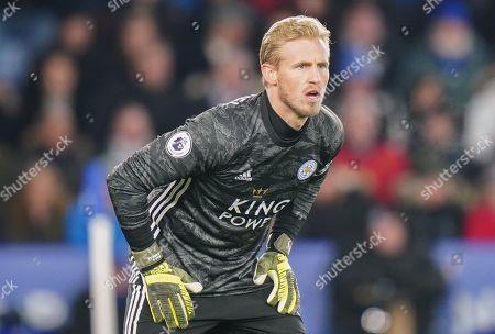 Kasper Schmeichel goalkeeper of Leicester City