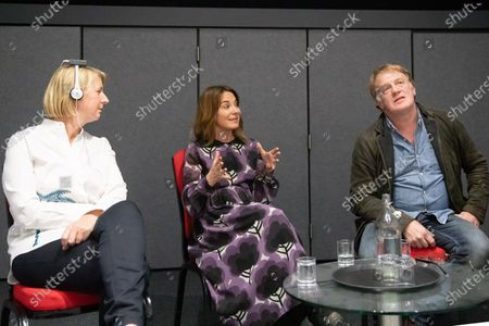 Stock Image of Suzanne Mackie, Nia Roberts and Mark Lewis Jones