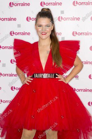 Editorial image of 'Lorraine' TV show, London, UK - 28 Nov 2019