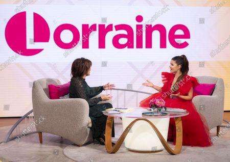 Editorial picture of 'Lorraine' TV show, London, UK - 28 Nov 2019