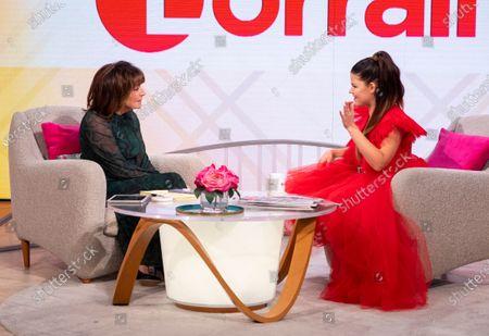 Editorial photo of 'Lorraine' TV show, London, UK - 28 Nov 2019
