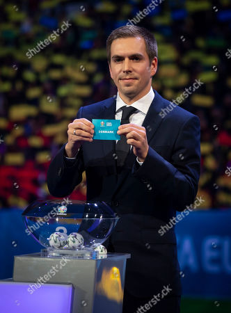 Stock Image of Philipp Lahm during the draw