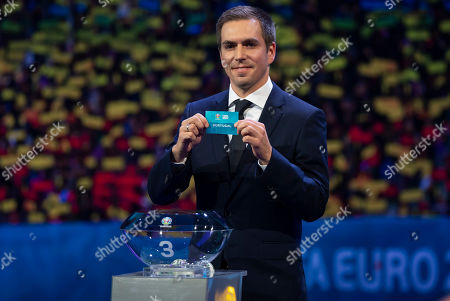 Editorial photo of UEFA EURO 2020 final tournament draw, Football, Romexpo Exhibition Centre, Bucharest, Romania - 30 Nov 2019