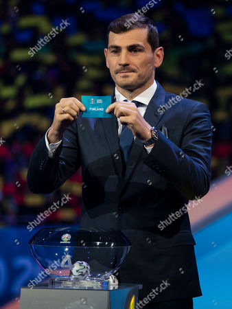 Iker Casillas during the draw