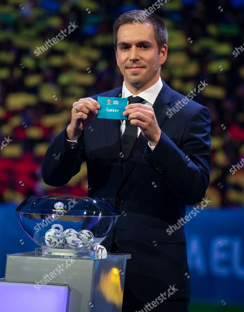 Philipp Lahm during the draw