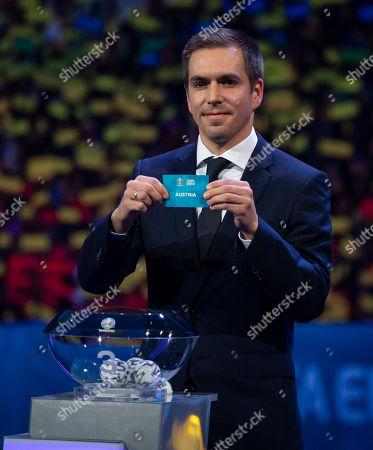 Editorial image of UEFA EURO 2020 final tournament draw, Football, Romexpo Exhibition Centre, Bucharest, Romania - 30 Nov 2019