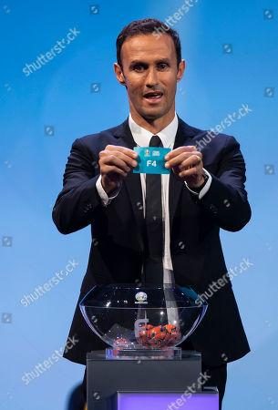 Ricardo Carvalho during the draw