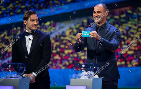 Editorial picture of UEFA EURO 2020 final tournament draw, Football, Romexpo Exhibition Centre, Bucharest, Romania - 30 Nov 2019