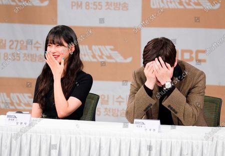 Ahn Jae-Hyun and Oh Yeon-seo