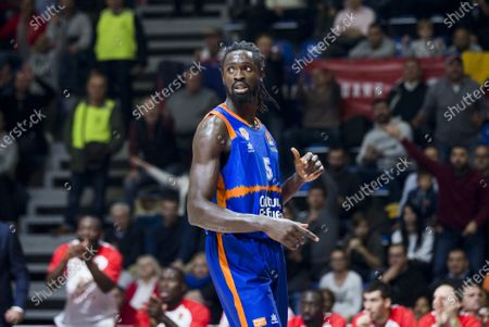 Maurice Ndour of Valencia Basket