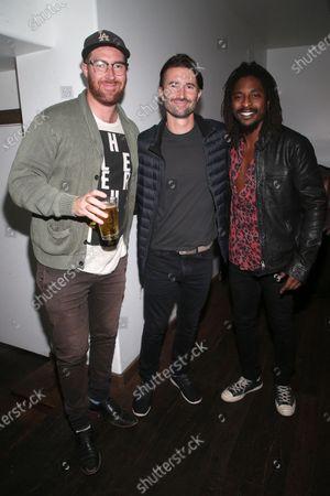 Sean Flynn, Brandon Jenner, Shwayze