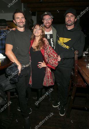 Brandon Jenner, Jane Seymour, Sean Flynn, Brody Jenner
