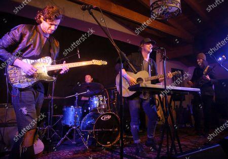 James Burnett, David Sandborg, Wesley Ritenour, Dane Sandborg of Music Band 'Little Dume'