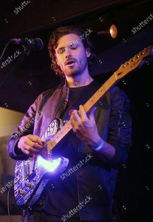 Stock Picture of James Burnett, of Music Band 'Little Dume'