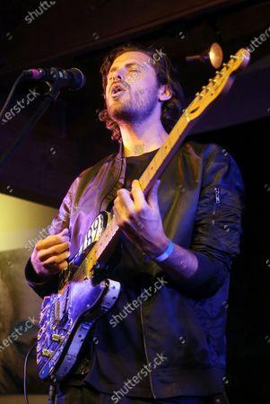 Stock Photo of James Burnett, of Music Band 'Little Dume'