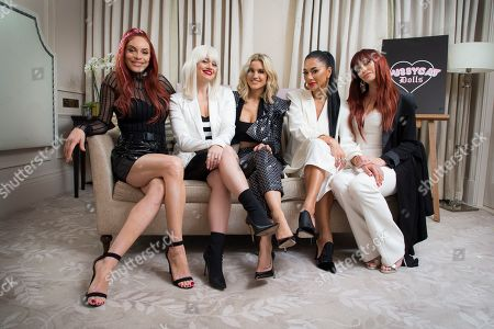 Editorial picture of Pussycat Dolls Interview, London, United Kingdom - 26 Nov 2019