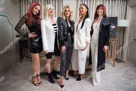 Editorial photo of Pussycat Dolls Interview, London, United Kingdom - 26 Nov 2019