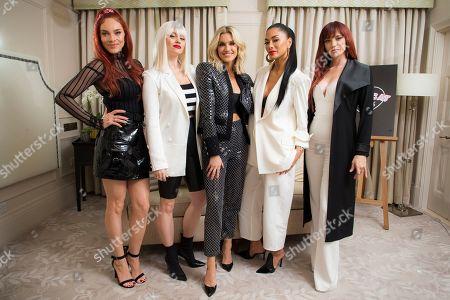 Editorial image of Pussycat Dolls Interview, London, United Kingdom - 26 Nov 2019