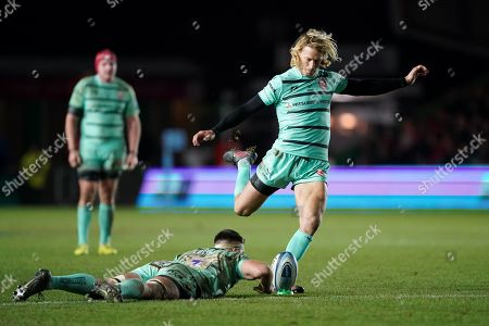 Editorial picture of Harlequins v Gloucester, Gallagher Premiership, Rugby Union, Twickenham Stoop, London, UK - 01 Dec 2019