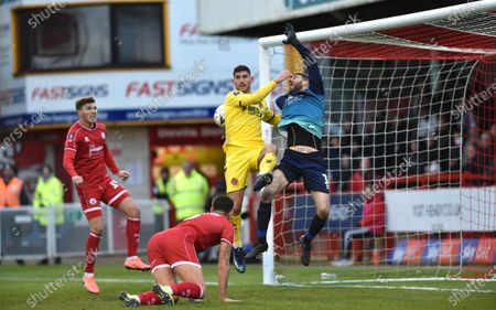 Editorial photo of Crawley Town v Fleetwood Town, Emirates FA Cup Second Round, Football, The People's Pension Stadium, UK - 01 Dec 2019