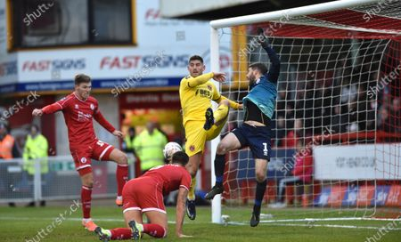 Editorial image of Crawley Town v Fleetwood Town, Emirates FA Cup Second Round, Football, The People's Pension Stadium, UK - 01 Dec 2019