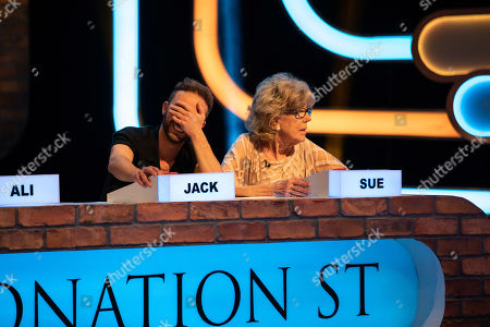 Jack P Shepherd and Sue Nicholls.