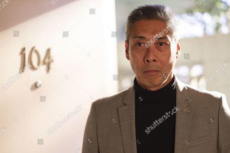 Stock Picture of Francois Chau as Dr. Blake
