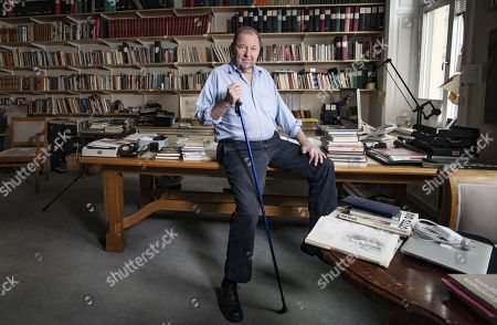 Editorial image of Film Director Roy Andersson in his studio in Stockholm - 25 Oct 2019