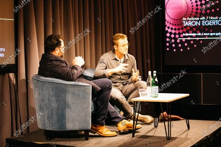 Editorial picture of An Audience with Taron Egerton, BAFTA Piccadilly, London, UK - 27 Nov 2019