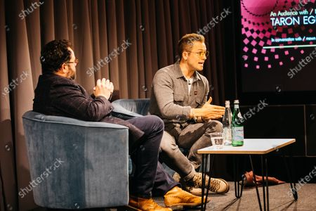 Editorial image of An Audience with Taron Egerton, BAFTA Piccadilly, London, UK - 27 Nov 2019