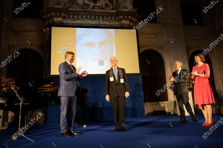 Stock Picture of King Willem-Alexander, John Adams