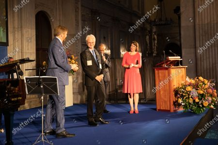 Editorial picture of Erasmus Prize Presentation at the Royal Palace, Amsterdam, Netherlands - 28 Nov 2019