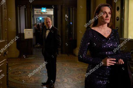 Adrian Edmondson as Cliff Walker and Sarah Parish as Bancroft.