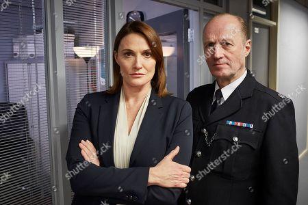 Sarah Parish as Bancroft and Adrian Edmondson as Cliff Walker.