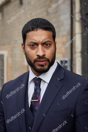 Stock Picture of Ryan McKen as Daanish Kamara.