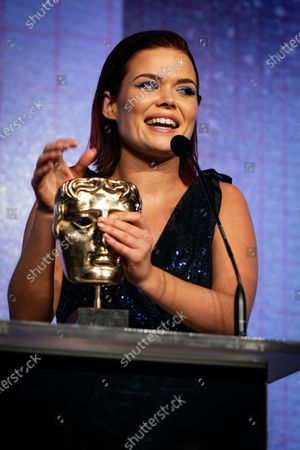 Lindsey Russell of Blue Peter, winner of The Best Presenter Award