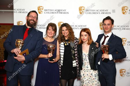 Editorial photo of British Academy Children's Awards, Press Room, The Brewery, London, UK - 01 Dec 2019