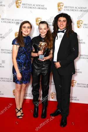 Bella Ramsey - Young Performer - The Worst Witch, presented by Kia Pegg and Miles Butler-Hughton