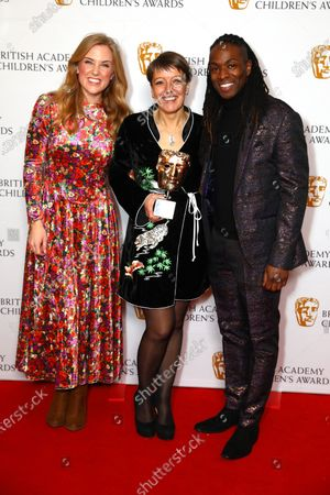 Alice Webb - Channel - CBBC, presented by Maddie Moate and Nigel Clarke