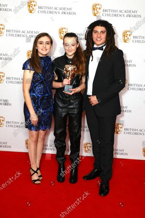 Bella Ramsey - Young Performer - The Worst Witch, presented by Kia Pegg and Miles Butler-Haughton
