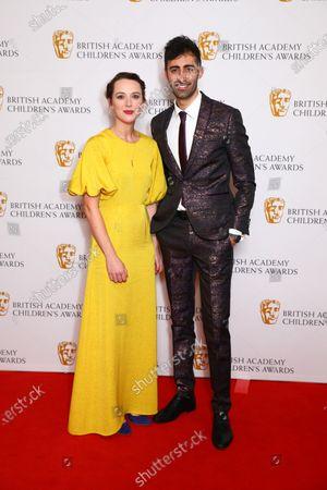Stock Image of Presenters Jessica Ransom and Richard David-Caine