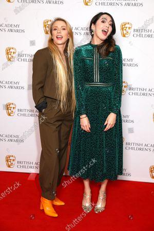 Presenters Julia Hardy and Jane Douglas