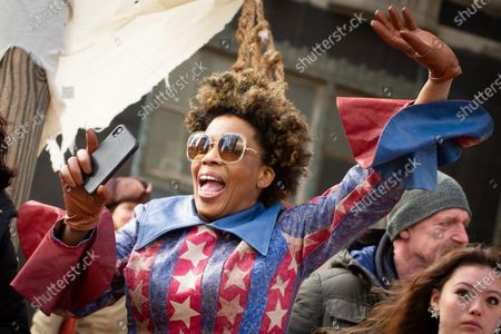 Performing artist Macy Gray is seen during the 6ABC Thanksgiving Day Parade