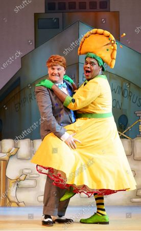 Editorial image of 'Dick Whittington and his Cat' Pantomime performed at Hackney Empire Theatre, London UK - 28 Nov 2019