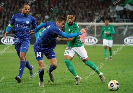 Editorial photo of Soccer Europa League, Saint Etienne, France - 28 Nov 2019