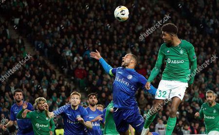 Editorial picture of Soccer Europa League, Saint Etienne, France - 28 Nov 2019