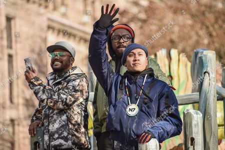 Stock Image of Black Eyes Peas, Will i am, apl de ap and Taboo