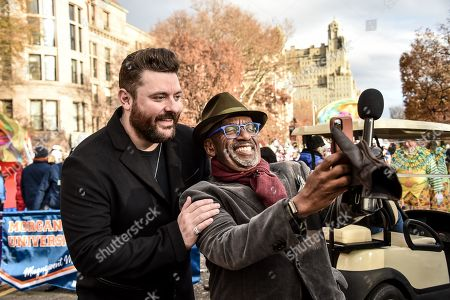 Stock Photo of Chris Young, Al Roker